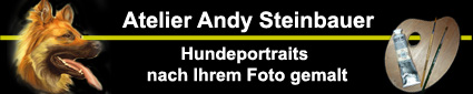 Atelier Andy Steinbauer - Hundeportraits